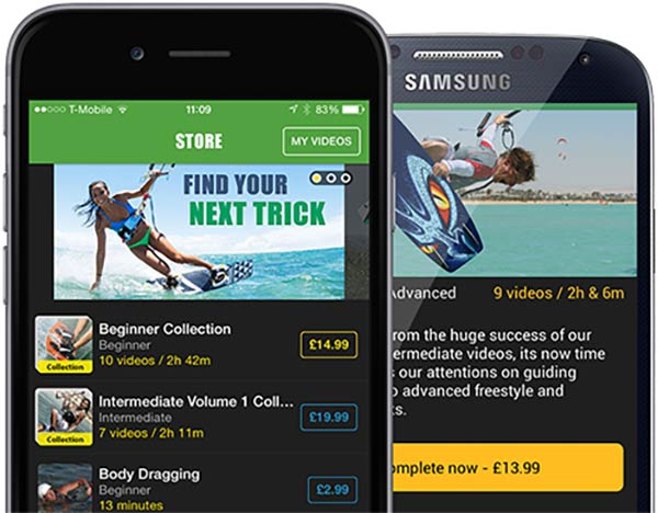 Progression Player Apps for iOS and Android | Progression Sports