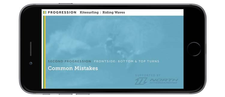 iphone 6 - kitesurfing frontside common mistakes