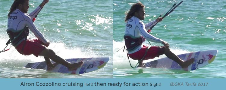 strapless surfboard foot positions explained